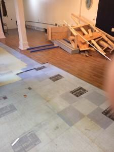 Metropets Natick Floor Renovation 1
